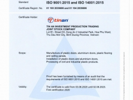 ISO 9001:2015 & 14001:2015
